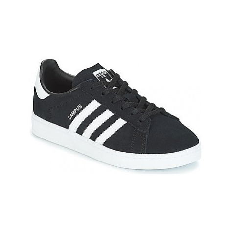 Adidas CAMPUS C girls's Children's Shoes (Trainers) in Black
