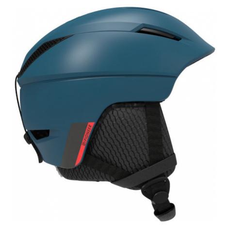 Salomon PIONEER M MOROCCAN blue - Ski helmet