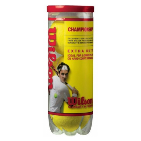 Wilson CHAMP XD TBALL 3 BALL CAN - Tennis balls