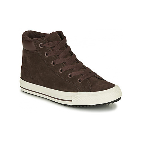 Converse CHUCK TAYLOR ALL STAR PC BOOT HI boys's Children's Shoes (High-top Trainers) in Brown