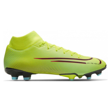 Nike MERCURIAL SUPERFLY 7 ACADEMY MDS FG/MG yellow - Men's football shoes