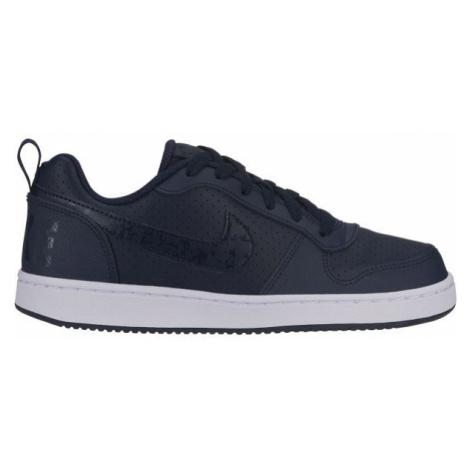 Nike COURT BOROUGH LOW dark blue - Boys' leisure shoes