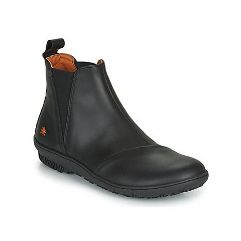Art ANTIBES women's Mid Boots in Black