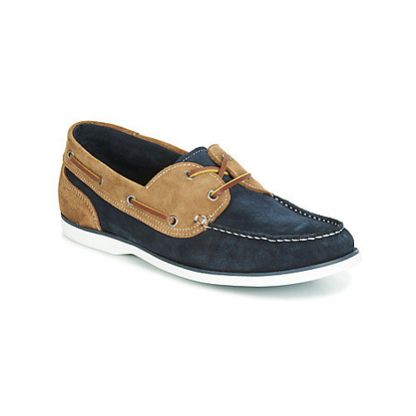 Casual Attitude JALIYATE men's Boat Shoes in Blue