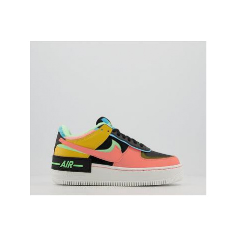 Nike Air Force 1 Shadow SOLAR FLARE ATOMIC PINK BALTIC BLUE