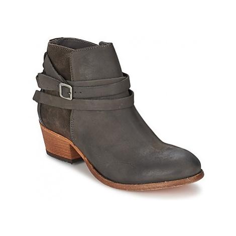 Hudson HORRIGAN women's Low Ankle Boots in Grey Hudson London