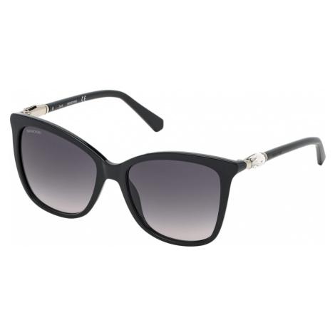 Swarovski Sunglasses, SK0227-01B, Black
