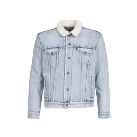 Levis TYPE 3 SHERPA TRUCKER men's Denim jacket in Blue Levi´s