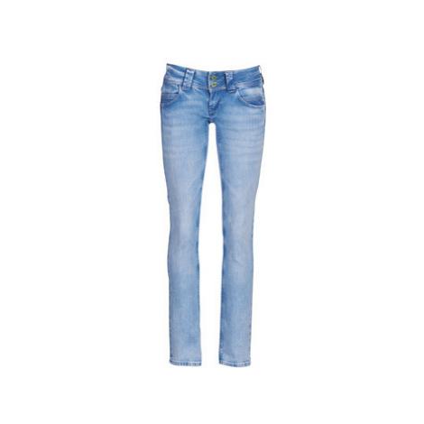 Pepe jeans VENUS WISER WASH women's Jeans in Blue