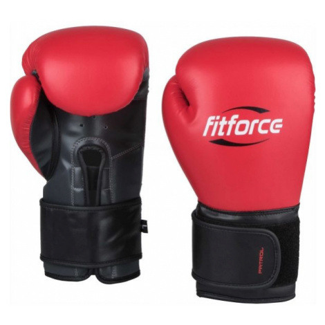 Fitforce PATROL red - Training boxing gloves