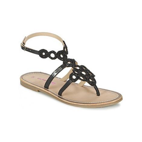 Les Tropéziennes par M Belarbi OFELIE women's Sandals in Black