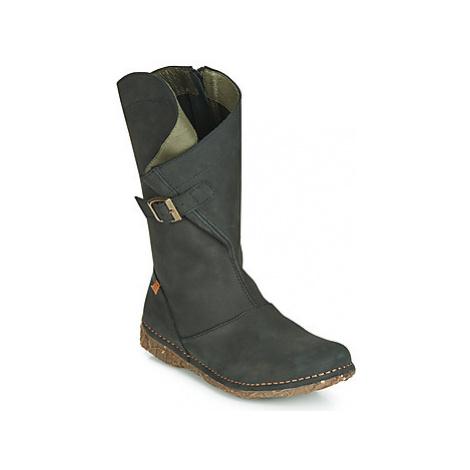 El Naturalista ANGKOR women's High Boots in Black