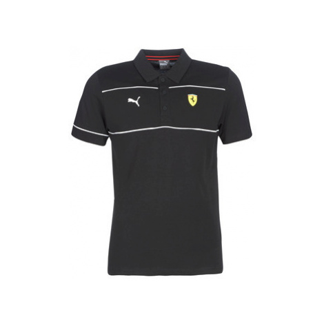 Puma FERRARI POLO men's Polo shirt in Black