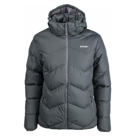 Hi-Tec LADY SAFI dark gray - Women's quilted jacket