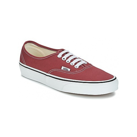 Vans Authentic women's Shoes (Trainers) in Red