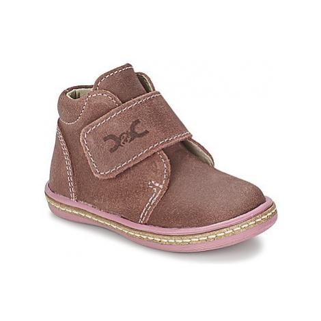 Citrouille et Compagnie HALRAN girls's Children's Mid Boots in Pink