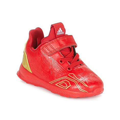 Adidas RAPIDARUN AVENGERS C girls's Children's Shoes (Trainers) in Red