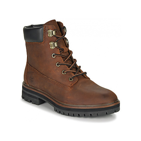 Timberland LONDON SQUARE 6IN BOOT women's Mid Boots in Brown