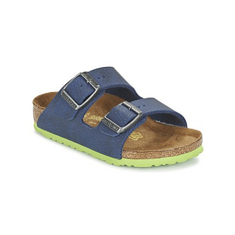 Birkenstock ARIZONA girls's Children's Mules / Casual Shoes in Blue