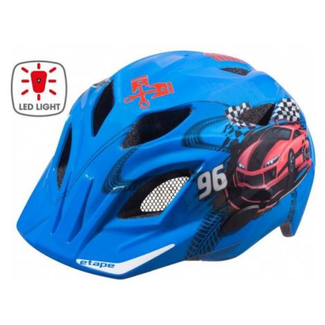 Etape PLUTO LIGHT blue - Kids' cycling helmet