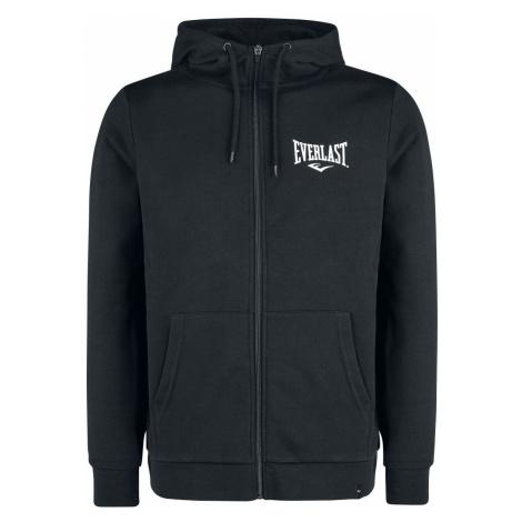 Everlast Hooded Full Zip Sweatshirt Limerick Hooded zip black