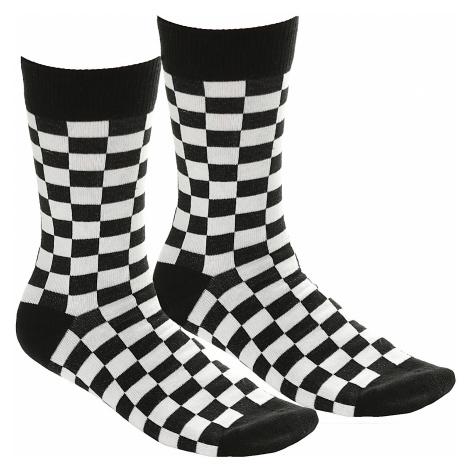 socks Urban Classics Checker 2 Pack/TB2162 - Black/White