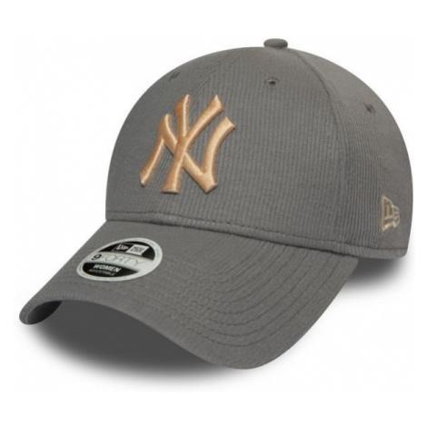 New Era 9FORTY W MLB RIBBED JERSEY NEW YORK YANKEES grey - Women's club baseball cap
