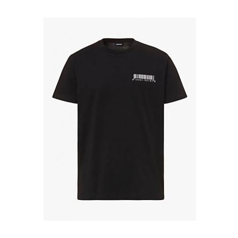 Diesel Barcode Logo T-Shirt, 9XX Black