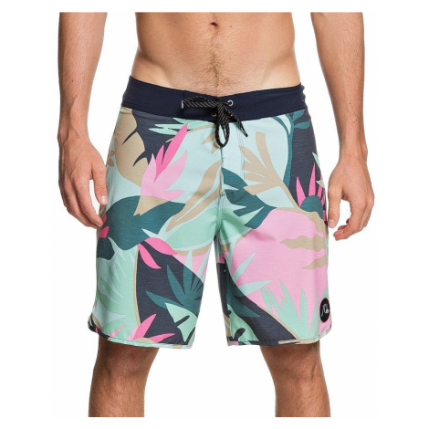 swimming shorts Quiksilver Highline Tropical Flow 19 - GCZ6/Beach Glass - men´s