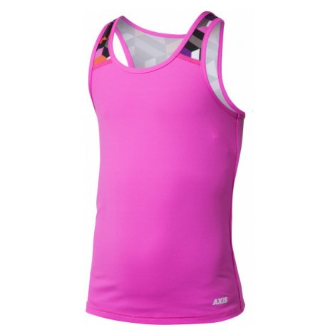 Axis FITNESS TOP pink - Girls' sports top