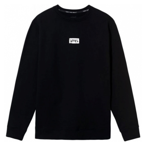 Vans MN SCRATCHED CREW black - Men's sweatshirt