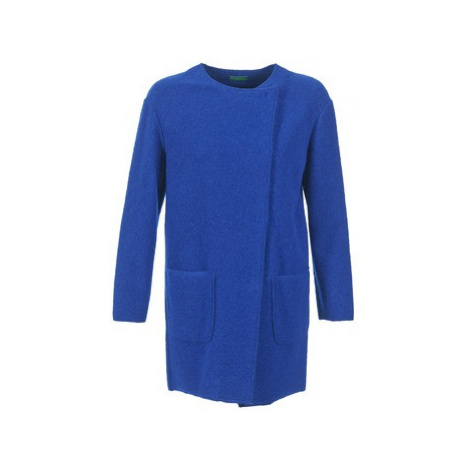 Benetton FROU women's Coat in Blue United Colors of Benetton