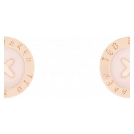 Ladies Ted Baker Rose Gold Plated Eisley Enamel Mini Button Earring TBJ1266-24-134