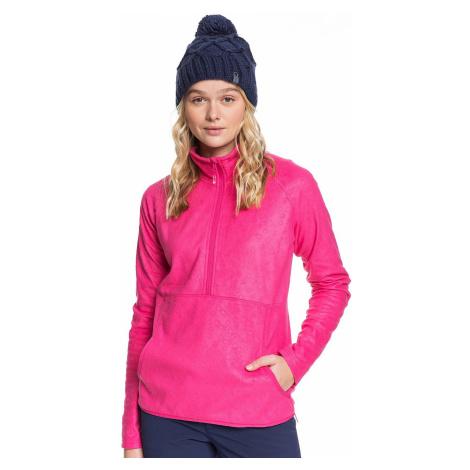 sweatshirt Roxy Cascade - MML2/Beetroot Pink Risingpeak Embos - women´s