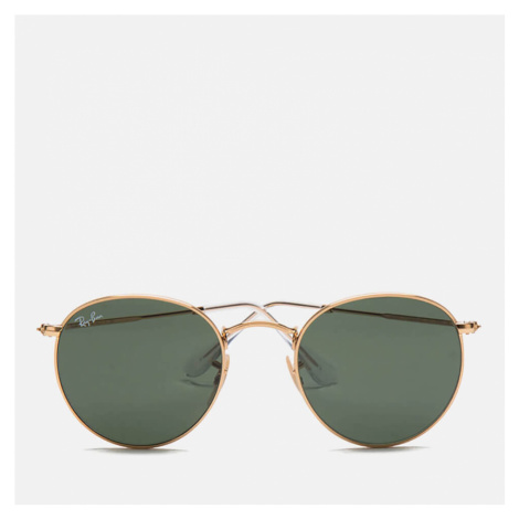 Ray-Ban Round Metal Sunglasses - Arista/Crystal Green - 50mm