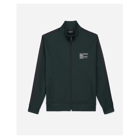 The Kooples - Dark green zipped jacket with roll neck - MEN