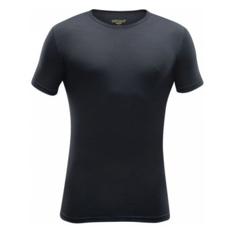 Devold BREEZE MAN T-SHIRT black - Men's woollen T-shirt