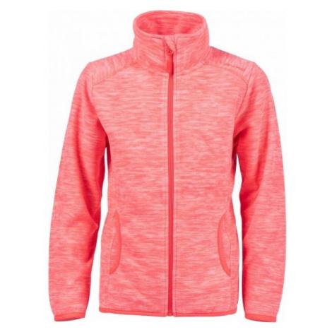 Lewro ROYCE pink - Children's fleece sweatshirt