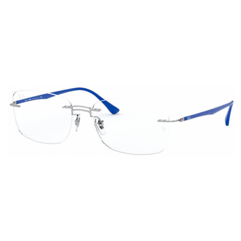 Ray-Ban Rb8750 Man Optical Lenses: Multicolor, Frame: Blue - RB8750 1193 56-17
