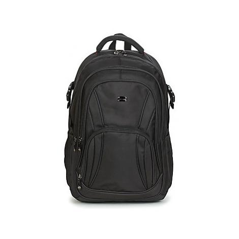 """David Jones LITO 17"""" men's Backpack in Black"""