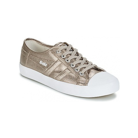 Gola COASTER METALLIC women's Shoes (Trainers) in Silver