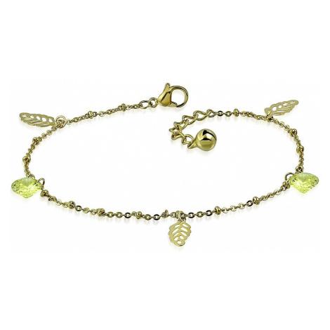 bracelet Body Art ANK243 - Ticket/Calculus Yellow