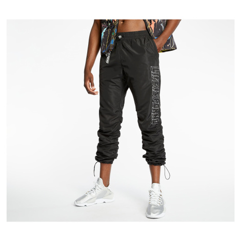 LIFE IS PORNO Windbreaker Pants Black