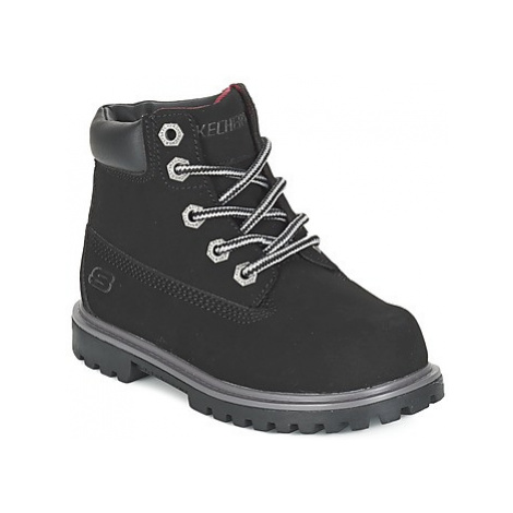 Skechers MECCA boys's Children's Mid Boots in Black