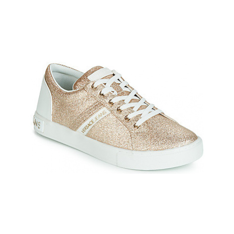 Versace Jeans Couture EOVTBSF2 women's Shoes (Trainers) in Gold