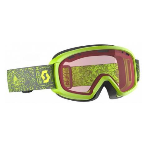 Scott JR WITTY purple - Kids' ski goggles