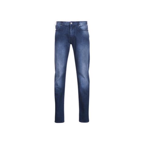Emporio Armani TERENCE men's Skinny Jeans in Blue