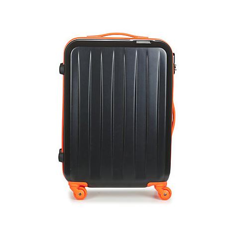 David Jones MUSQUETA 52L men's Hard Suitcase in Black