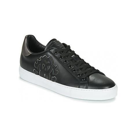 Roberto Cavalli 8305 men's Shoes (Trainers) in Black