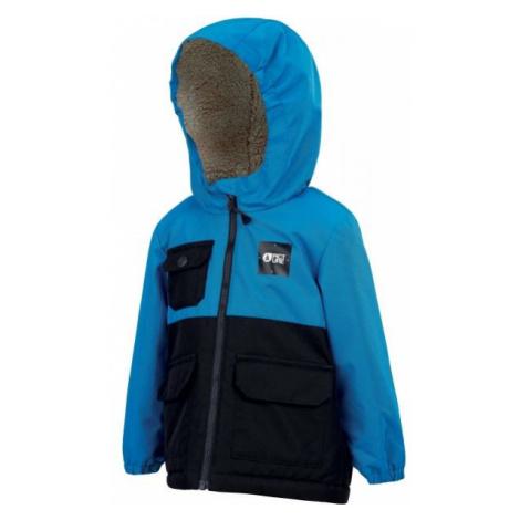 Picture SNOWY blue - Children's winter jacket
